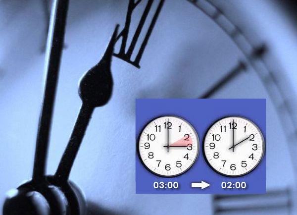 25 октября Греция переходит на зимнее время