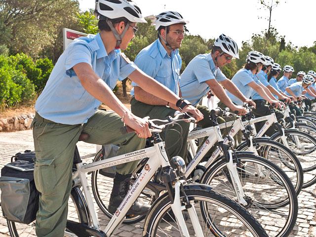 Велосипедный патруль  на страже порядка