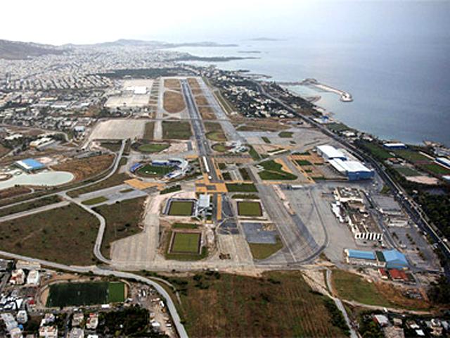 Розвиток подій по готельному комплексу Астерас в районі Вуліягмені і території колишнього аеропорту в районі Еллініко