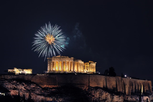 Christmas and New Year's Eve in Greece