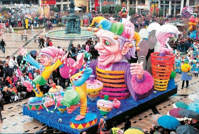 Patras Carnival – the biggest carnival in Greece