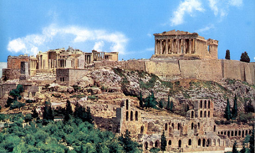 Acropolis voted best attraction in Europe