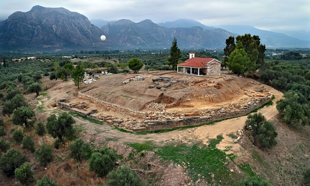 В Греции обнаружили руины построенного 3,5 тыс. лет назад дворца