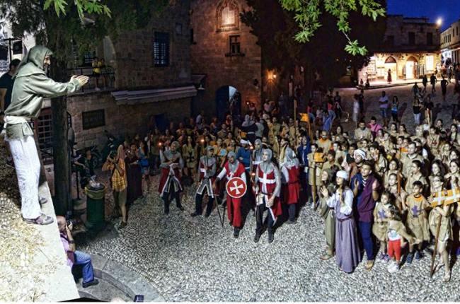 9-й Средневековый фестиваль Родоса