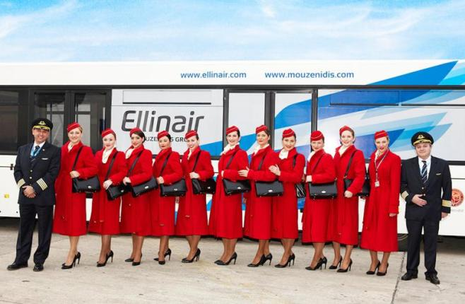 Ellinair: Winter flights domestic and international.