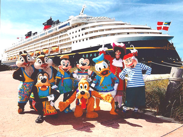 Disney Magic Cruise Ship Visits Greece This Summer