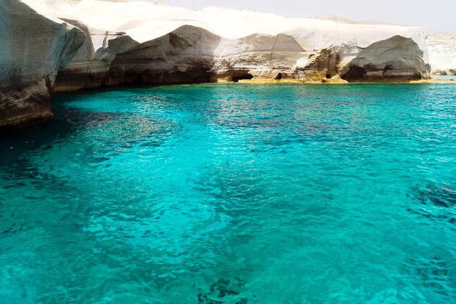 Greece sea is regodnized as one of the cleanest seas in the world.