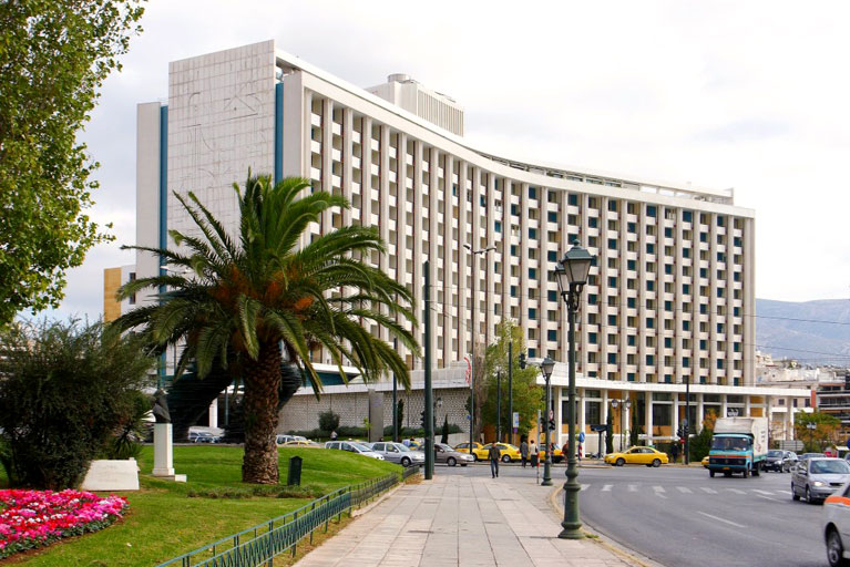 The Emblematic Athens Hilton Hotel is Allegedly for Sale