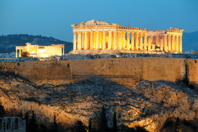 Acropolis- one of the best monuments in Europe.