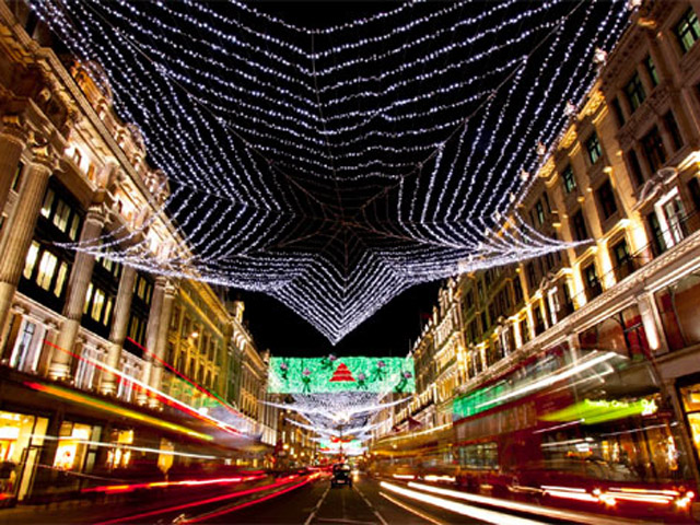 Athens- Christmas in town