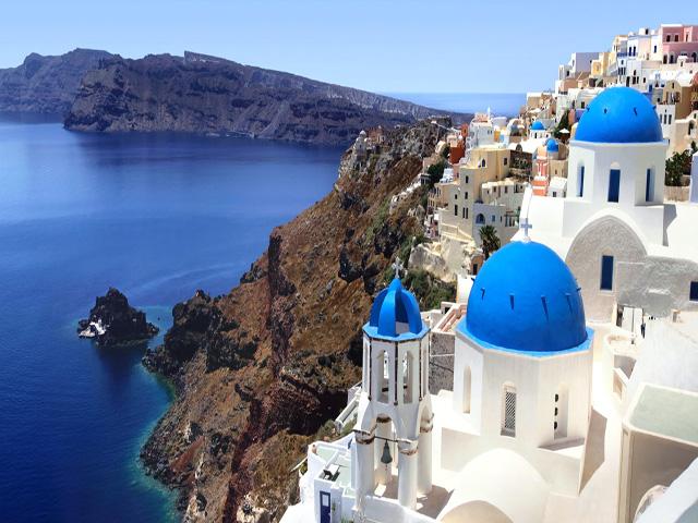 A greek island for you