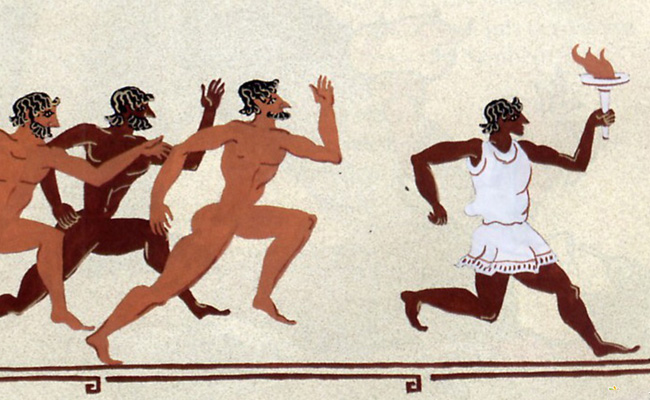 12th Olympic Marathon in Greece, ''The race of the gods''.