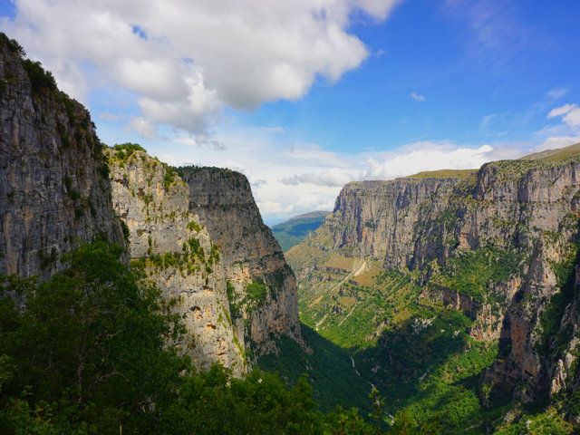 Two Greek gorges - among the most impressive gorges of Europe