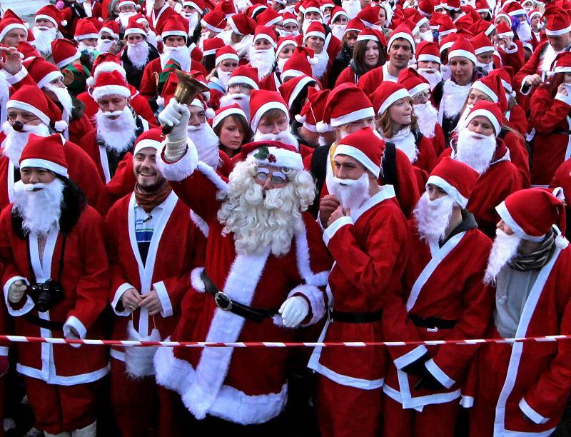 """""""Santa Run"""" - благодійний забіг на Криті"""