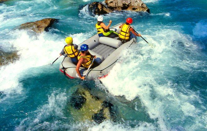 Rafting in Greece