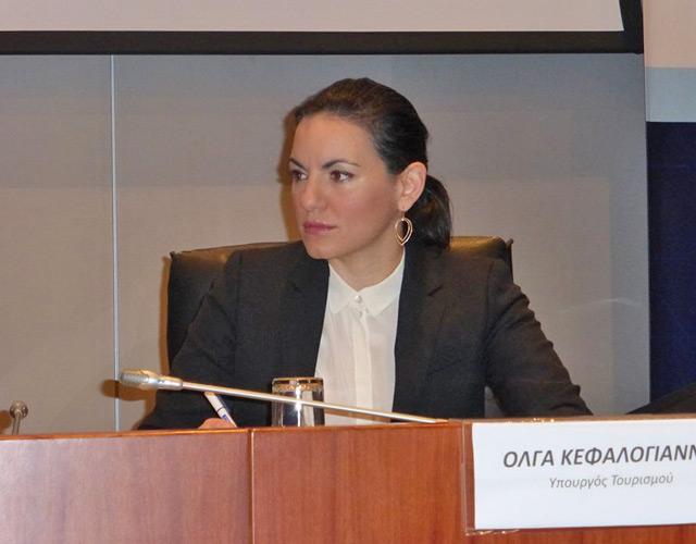 Ольга Кефалоянни: Визит в Россию