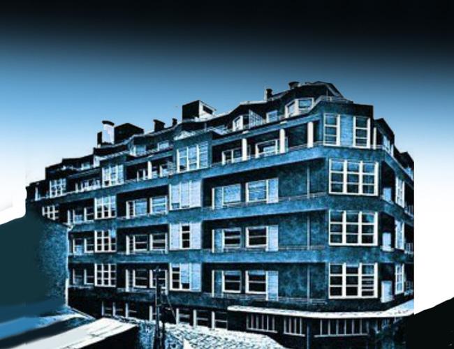 Легендарное Синее здание справило свой День Рождения