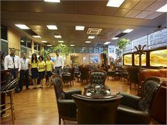 Вип зал в аэропорту г. Салоники