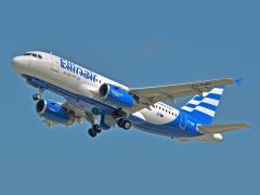 Airbus A319 w locie