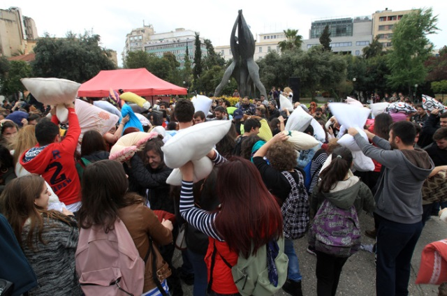 Міжнародний день бою подушками відзначать в Греції