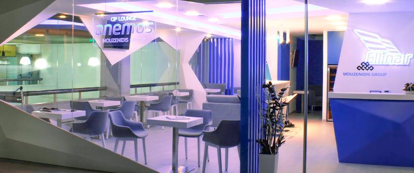 Εγκαίνια για το VIP Lounge «Anemos» της αεροπορικής εταιρείας Ellinair στο αεροδρόμιο Ηρακλείου