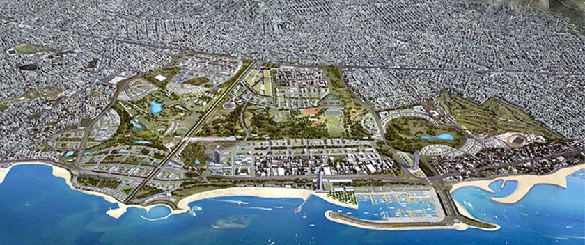 Πρώην αεροδρόμιο Ελληνικού: η μεγαλύτερη αστική ανάπλαση στην Ευρώπη