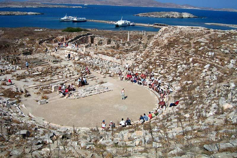 Находки археологов в Греции у острова Делос.