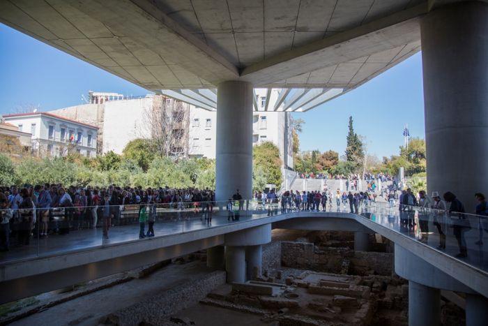 Mehr Besucher in Museen – mehr Einnahmen für Griechenland