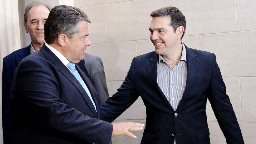 """Tsipras und Gabriel fordern """"Ende der Sparpolitik"""""""