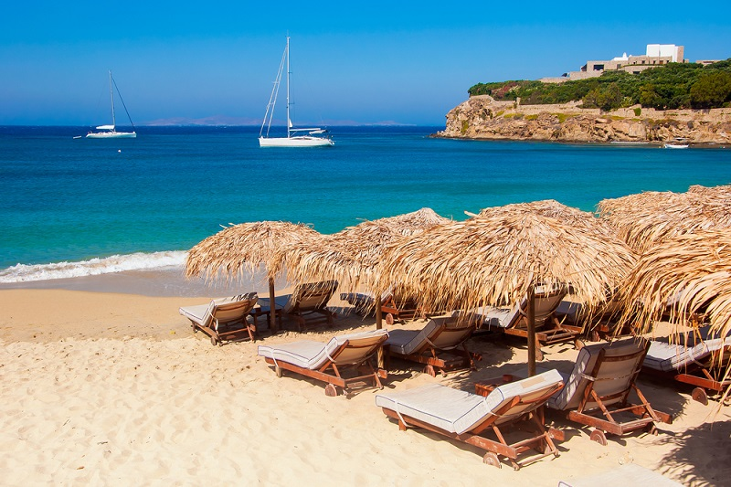 A place on the Greek beach can now be booked online
