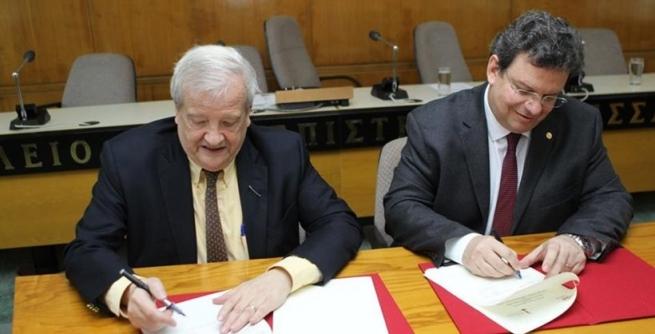 Університети Аристотеля і Гарвард підписали угоду про наукову співробітництво