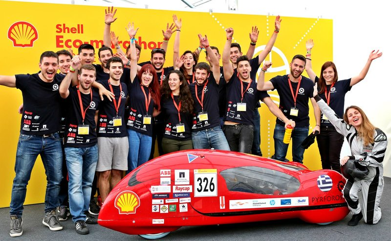 Greek Students' Electric Car Hits the Road