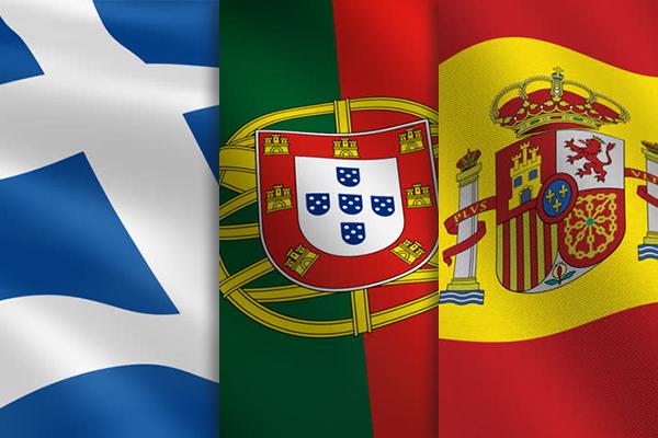 """Порівняння програм """"Золота віза"""": Іспанія, Португалія та Греція"""