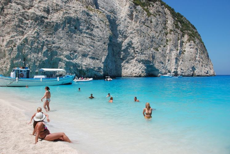 Греческие пляжи с Голубым флагом