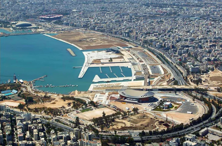 The plan of the second stage of reconstruction for the Athenian Riviera has been presented.