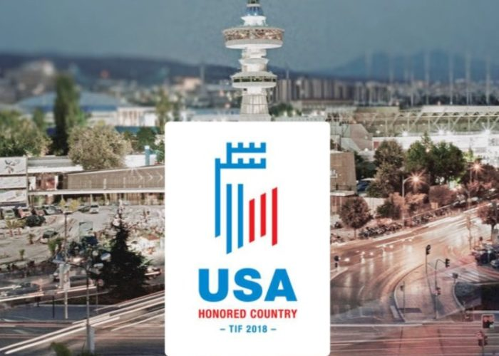 Greece's Thessaloniki to honor USA