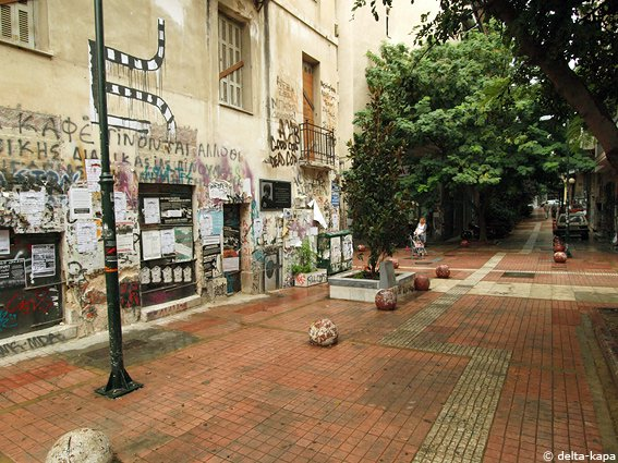 Chinese Investor Buys 100 Apartments in Athens's Exarchia