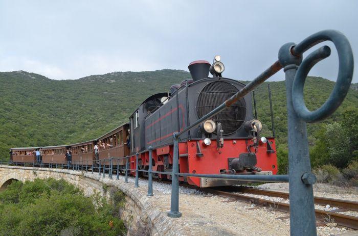 Eisenbahn-Romantik: Die Pelionbahn