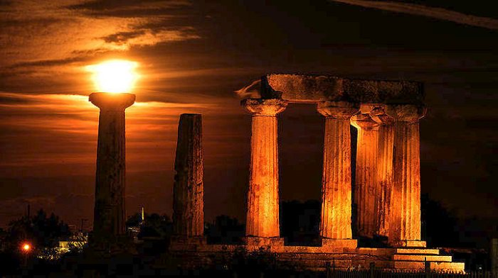 Greek Archaeological Sites Free of Charge for August Full Moon