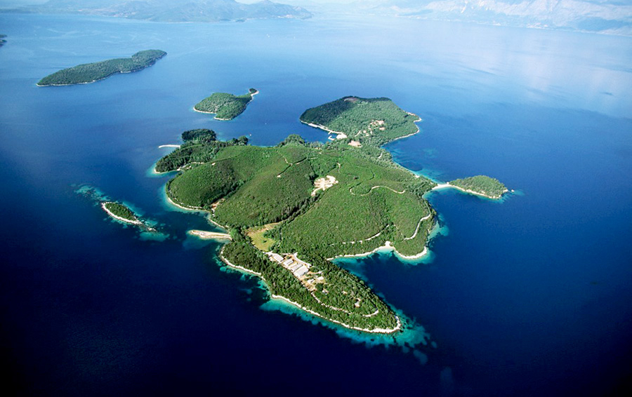 The new owner of the island of Scorpios will make it an elite resort