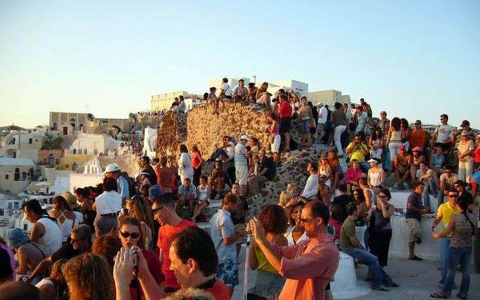В Греции в этом году вырос доход от туризма