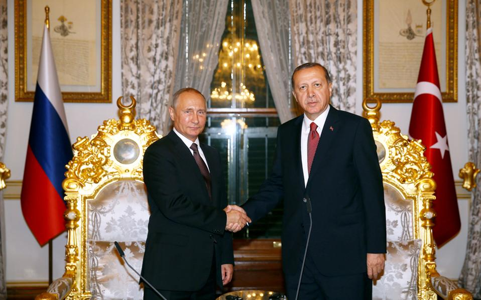 Greece Could Benefit From Putin-Erdogan Gas Pipeline Deal