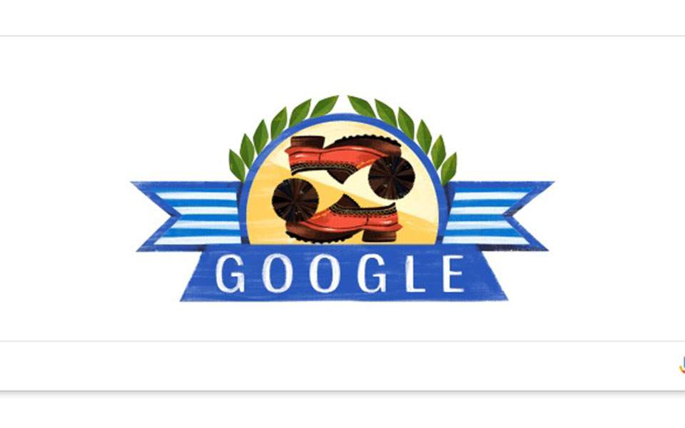 Google Honors Greece and the 1821 War of Independence