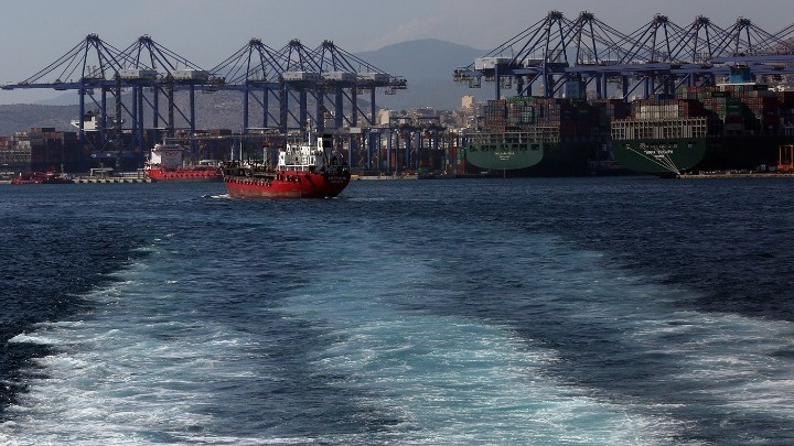 Greece's Port of Piraeus Ranked 7th Largest in Europe