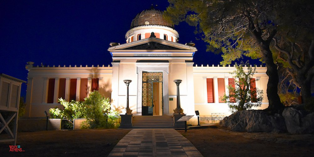 Christmas Fun at the Athens National Observatory in Thissio