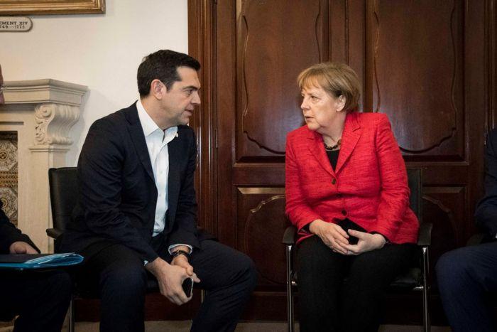 Treffpunkt Malta: Gedankenaustausch zwischen Tsipras und Merkel