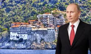 Der russische Präsident in Griechenland