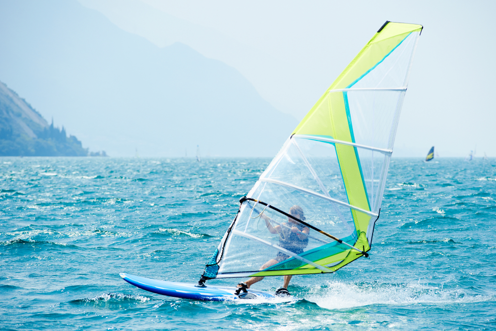 Windsurfing training in Greece