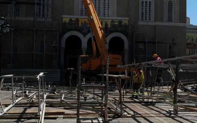 Завершено восстановление Афинского Кафедрального Собора