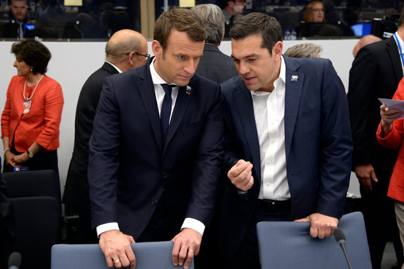 French President Macron to Push Eurozone Reforms from Athens